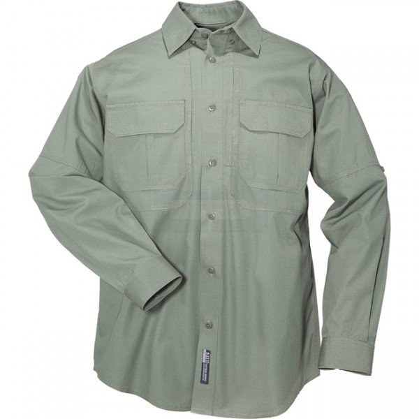 5.11 Tactical Long Sleeve Cotton Shirt - OD Green