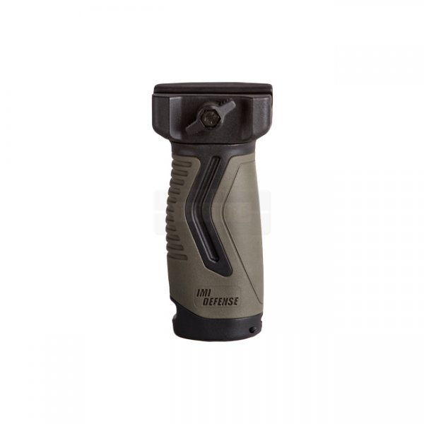 IMI Defense OVG Overmolded Vertical Grip - Black/Olive
