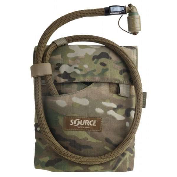 SOURCE Kangaroo 1L Collapsible Canten & Pouch - Multicam