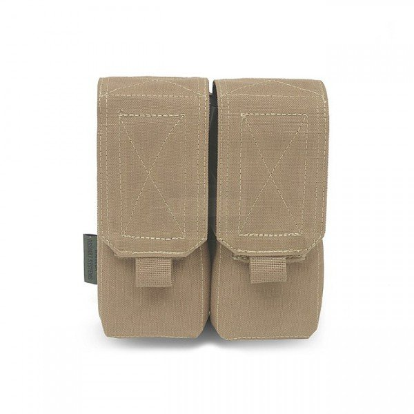 Warrior Double M4 Magazine Pouch - Coyote
