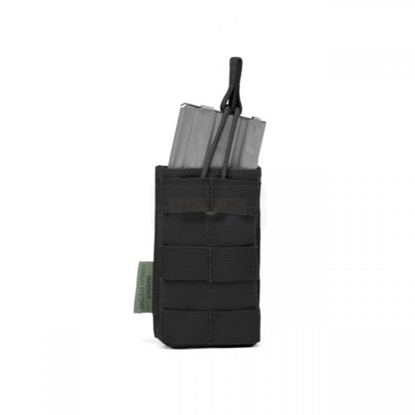 Warrior Single M4 Open Magazine Pouch - Black