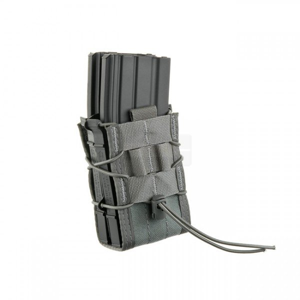 High Speed Gear X2R Taco Double Rifle Mag Pouch - Grey