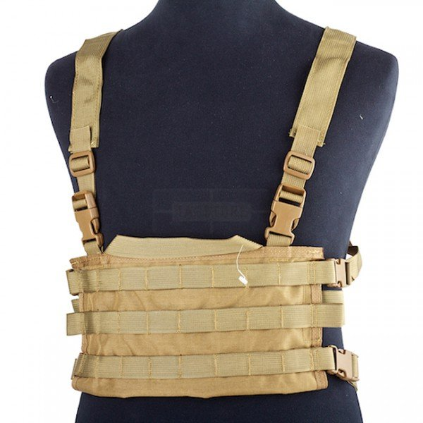High Speed Gear AO Small Chest Rig - Coyote
