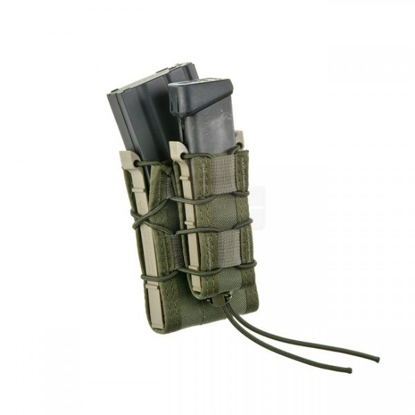 High Speed Gear Double Decker Taco Mag Pouch - Olive