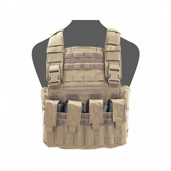 Warrior Gladiator Chest Rig - Coyote