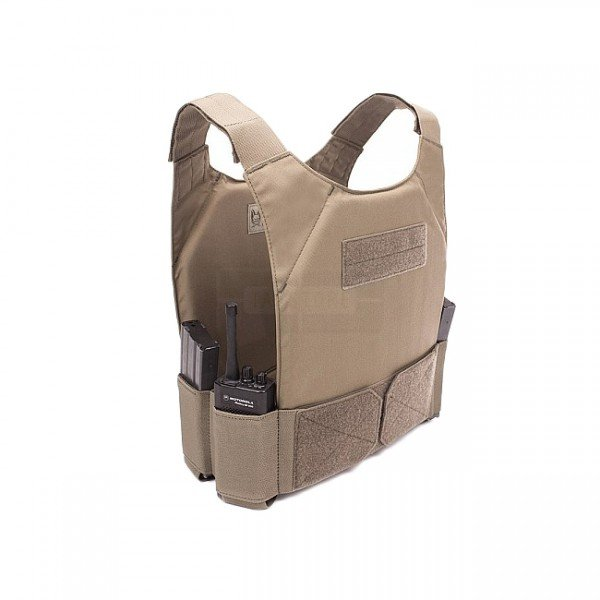 Warrior Covert Plate Carrier - Coyote