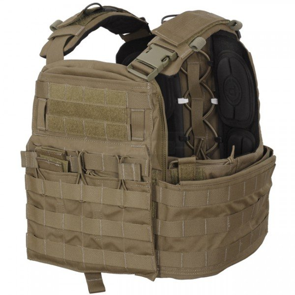 Crye Precision CAGE Plate Carrier & Plate Pouch Set - Coyote