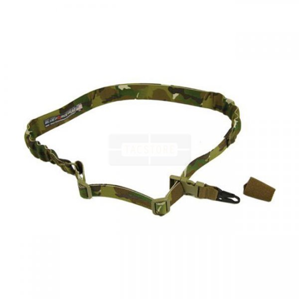 Blue Force Gear UDC Padded Bungee Single Point Sling & Sling Snap Hook - Multicam