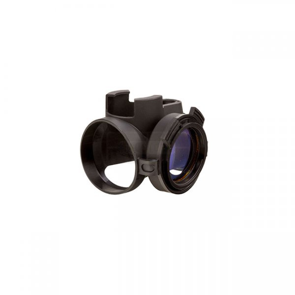 Trijicon MRO Slip on Cover with Clear Lens Caps - Black