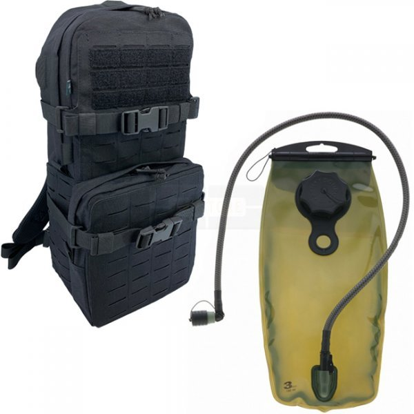 Pitchfork Medium Cargo & Hydration Pack Combo - Black