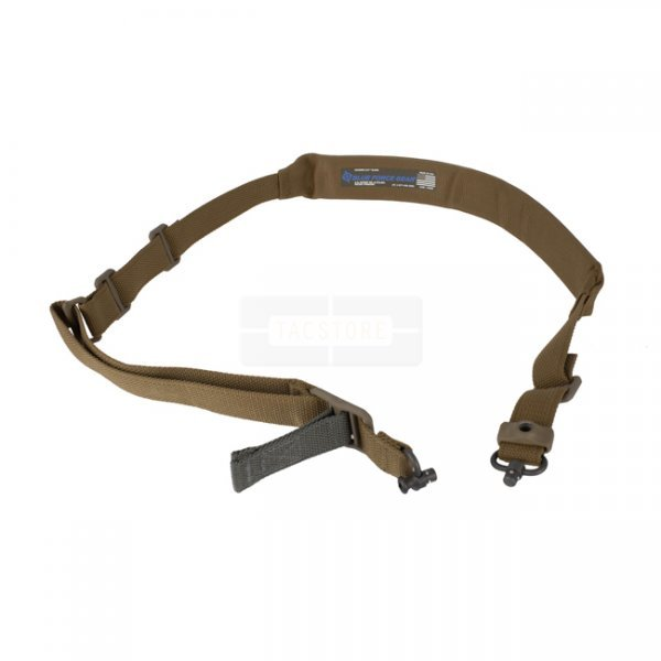 Blue Force Gear Vickers 221 Sling Padded Standard Push Button - Coyote Brown