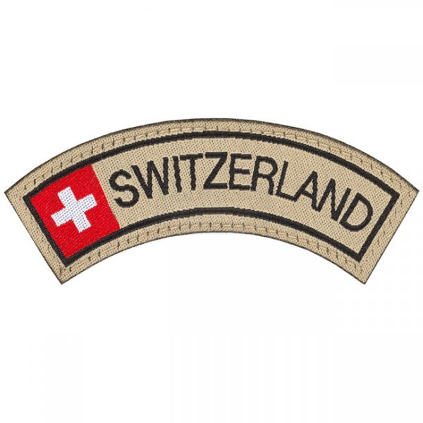 Clawgear Switzerland Small Tab Patch - Color