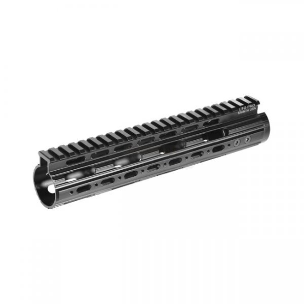 Leapers AR-15 Super Slim Free Float Handguard Mid Length - Black