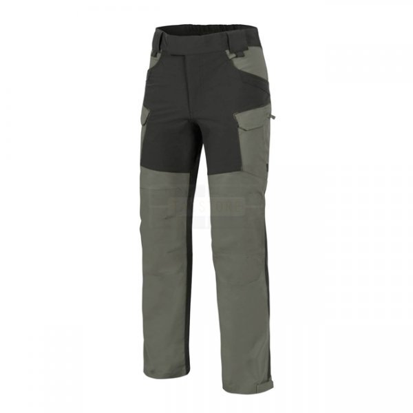 Helikon Hybrid Outback Pants Duracanvas - Taiga Green / Black - L - Regular