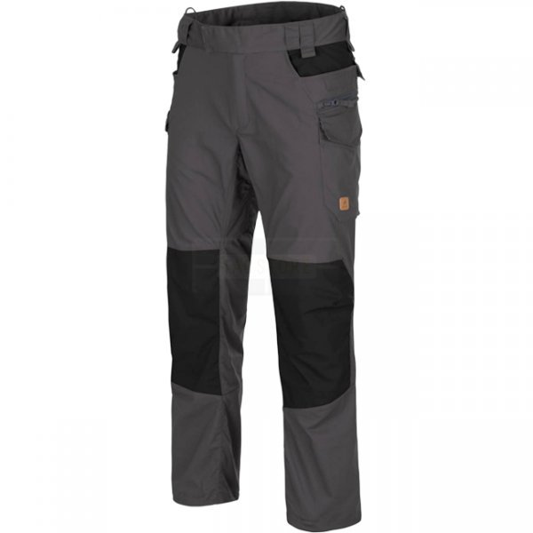 Helikon Pilgrim Pants - Ash Grey / Black - M - Long