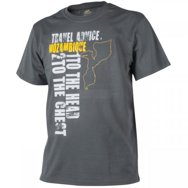 Helikon T-Shirt Travel Advice: Mozambique - Shadow Grey - L