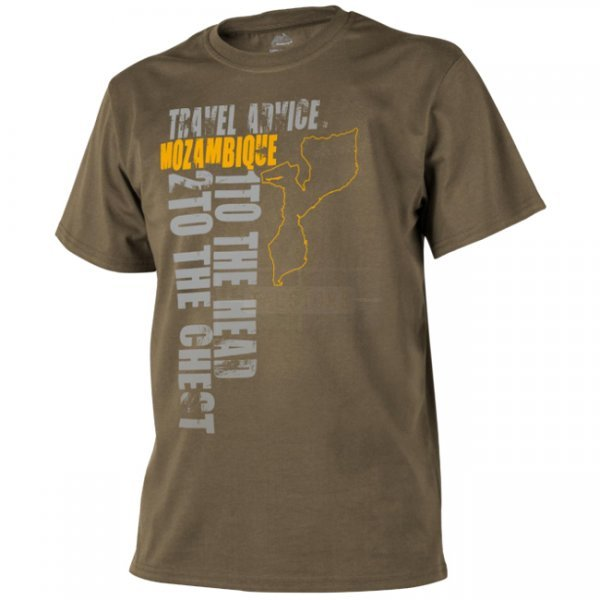 Helikon T-Shirt Travel Advice: Mozambique - Coyote - XL