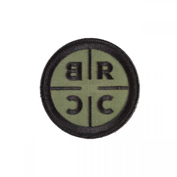 Black Rifle Coffee Logo Patch - Black / Green