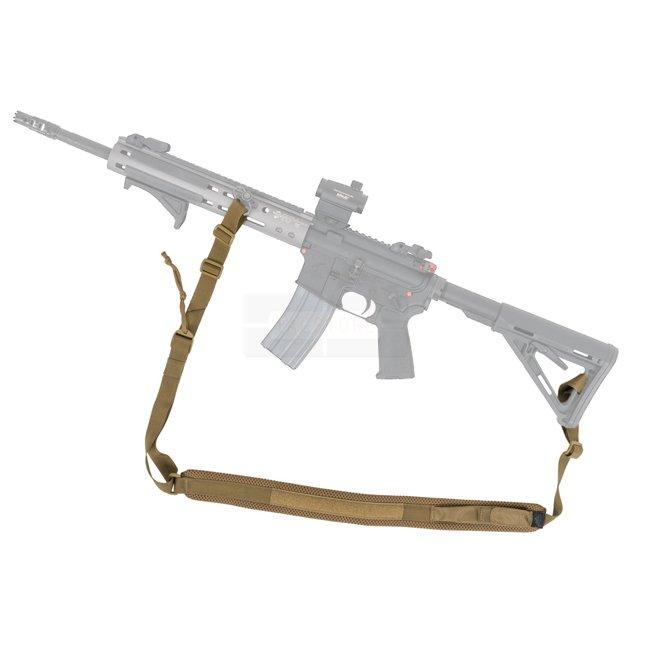 Gewehr Trageriemen 2 Point Sling für AK47 AK74 Oliv Outdoor Tactical