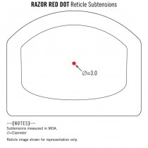 VORTEX Razor Red Dot - 3 MOA 5