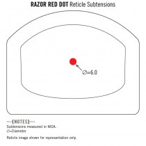 VORTEX Razor Red Dot - 6 MOA 5