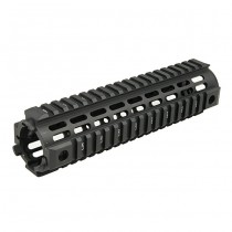 IMI Defense AR15 / M4 Aluminium Quad Rail Mid Length - Black