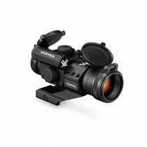 VORTEX StrikeFire II Bright Red Dot & Lower 1/3 Co-Witness Cantilever Mount