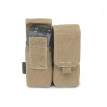Warrior Double M4 Magazine Pouch - Coyote 1
