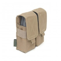 Warrior Double M4 Magazine Pouch - Coyote 2
