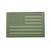Pitchfork US Left IFF Flag Patch - Olive