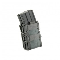 High Speed Gear X2R Taco Double Rifle Mag Pouch - Grey 1