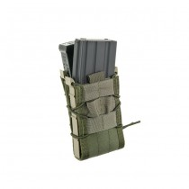 High Speed Gear Double Decker Taco Mag Pouch - Olive 1