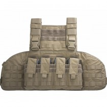 Warrior Gladiator Chest Rig - Coyote 1