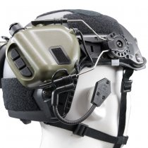 Earmor M32H MOD3 Tactical Hearing Protection Helmet Version Ear-Muff - Foliage Green