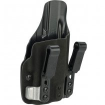 Haley Strategic G-Code INCOG IWB Full Guard Holster Glock 19 & Surefire XC-1 - Black