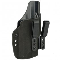Haley Strategic G-Code INCOG IWB Full Guard Holster Glock 17 & Inforce APL - Black