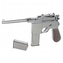Blackcat Mini Model Gun M1932 - Silver