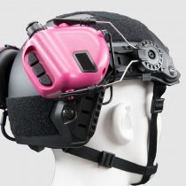 Earmor M32H MOD3 Tactical Hearing Protection Helmet Version Ear-Muff - Pink
