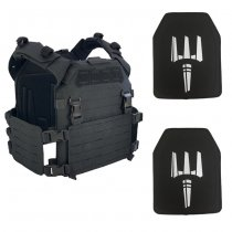 Pitchfork MPC Modular Plate Carrier NIJ Level IV Package - Black