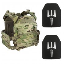 Pitchfork MPC Modular Plate Carrier NIJ Level IV Package - Multicam