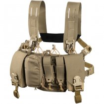 Direct Action Thunderbolt Compact Chest Rig - Coyote Brown
