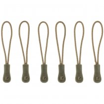 Clawgear CG Zipper Puller Medium 6-Pack - RAL7013