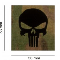 Clawgear Punisher IR Patch - Multicam
