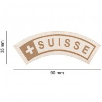 Clawgear Suisse Small Tab Patch - Desert