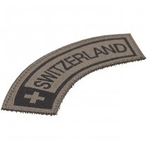 Clawgear Switzerland Small Tab Patch - RAL7013