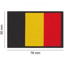 Clawgear Belgium Flag Patch - Color