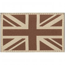 Clawgear Great Britain Flag Patch - Desert