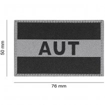 Clawgear Austria Flag Patch - Black