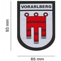 Clawgear Vorarlberg Shield Patch - Color