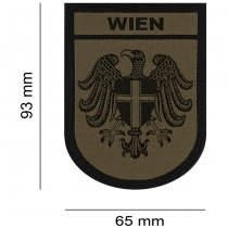 Clawgear Wien Shield Patch - RAL7013